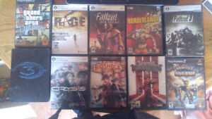 Selling Xbox 360/PS2/PC games $4 each!