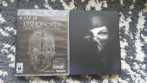 Dishonored 1 & 2 for sale (PS3 & PS4)