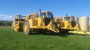 For Hire or Rent: CAT 627 Scraper with operator Strathcona County Edmonton Area image 2