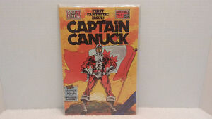 CAPTAIN CANUCK #1, 1975 COMELY COMIX