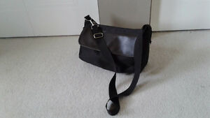 Dark brown hand bag