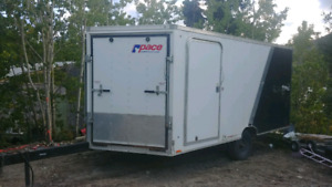 Enclosed trailer for sale.