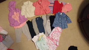 0-3 month lot girls clothes