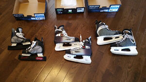 3 SETS OF  SKATES – ONE CHILDREN AND TWO ADULTS - $20/EACH