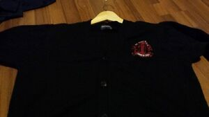 St Pauls Girls Adult Cardigan Size L and Long Sleeve Shirt