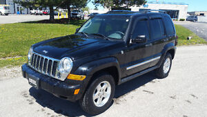 2006 JEEP LIBERTY CRD LIMITED - 53000 MILES - $8995 SAFTIED