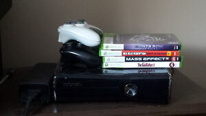 Xbox 360 w/ Controllers and Games Prince George British Columbia image 1