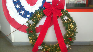Christmas Wreaths, Trees, and Flags Windsor Region Ontario image 7