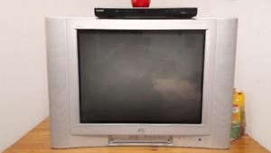 Téléviseur JVC écran plat cathodique 27p.