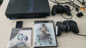 PlayStation 2 Bundle! + Kingdom Hearts II