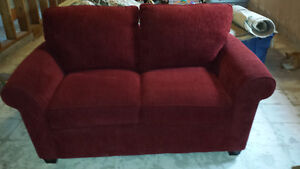 Brand New Red Loveseat- if ad is still up its still available Peterborough Peterborough Area image 2