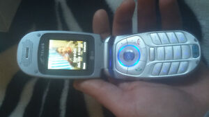 LG 245 flip cell phone, with box and all acc.