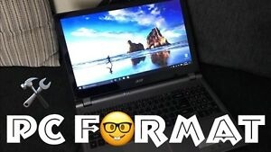 Computer Reformat and OS Reinstalling Service
