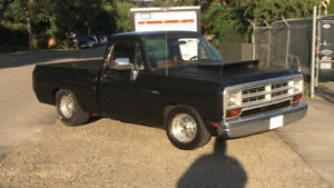 DODGE D100 SHORT BOX PROSTREET**KELOWNA**