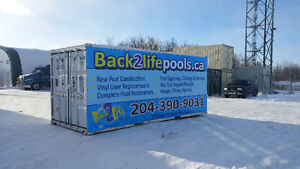 Pool liner Installations, builds, Openings and Service