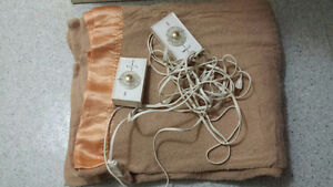 Electrically Heated Double /Queen Blanket
