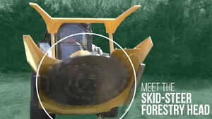 "SKID STEER ATTACHMENTS, 60"" FORESTRY HEAD"