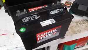 Brand new deep cycle battery and box