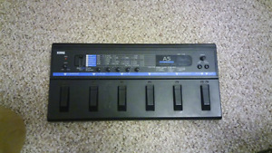 Korg A5 acoustic multi effects pedal