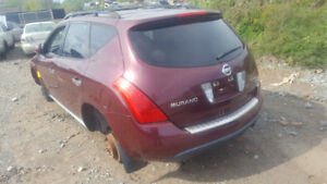 2007 MURANO. JUST IN FOR PARTS AT PIC N SAVE! WELLAND
