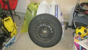 4 - P235/70 R16 Winter Tires and Rims St. John's Newfoundland image 1