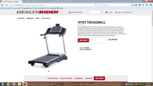 Healthrider H70T Treadmill PAID 1995.00 just in the winter