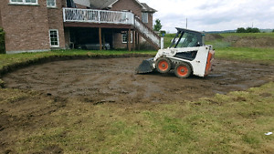 Excavation demolition and bobcat services