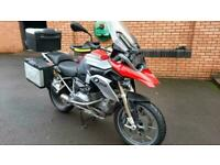 BMW R1200GS TE LOW 2013 only 16000 miles, FSH, HPI, Boxes, Liners