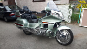 HONDA 1500cc GOLD WING SILVER ANIVERSERY EDITION