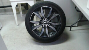 18 inch aluminum wheels & tires