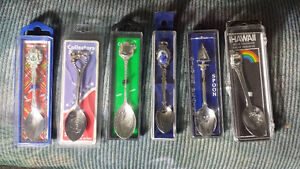 Silver Plated spoons in (6)