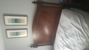Queen Bed head/foot board 220 *** still available