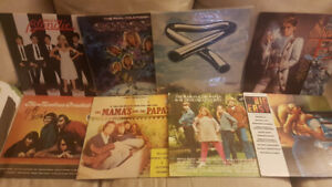 Bundle of records lps vinyl.  7.00 each or take all 8 for 40.00