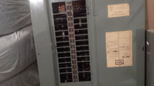 100 Amp Breaker Panel and Wiring