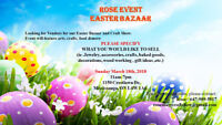 VENDORS WANTED for Easter bazaar &craft Shows