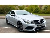 2013 Mercedes-Benz E-Class E250 CDI AMG Sport 7G-Tronic W Automatic Diesel Coupe