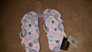 Toddler 10 brand new flip flops