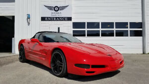 2002 CHEVROLET CORVETTE CONVERTIBLE WITH ONLY 52K!