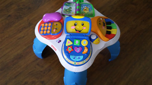 Fisher price music and learning table
