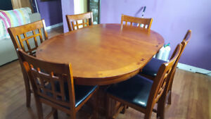 Dinning-room Table and chairs