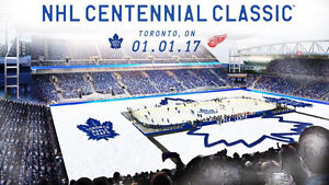 NHL Centennial Classic: Red Wings VS Maple Leafs 2 TICKETS