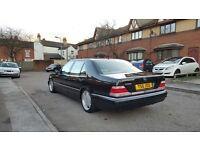 1999 MERCEDES S500L LPG GAS CONVERTED AMG