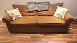 Couch and large chair (selling together or individually)