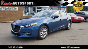 CERTIFIED 2017  MAZDA3 GS - LOADED - SUN - HTD SEATS - YORKTON