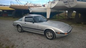 1982 Mazda RX-7 Coupe (2 door) 2200 firm or trade for Bike only