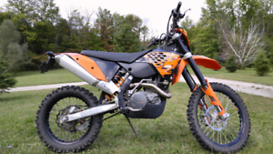 ktm 530 excr blue plated