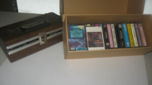 Cassette Tapes and Case