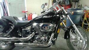 2007 Black Honda Shadow for Sale
