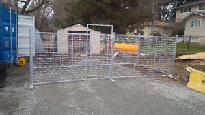 Temporary Security Fencing Galvanized