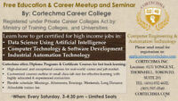 Free education and career meet up seminar